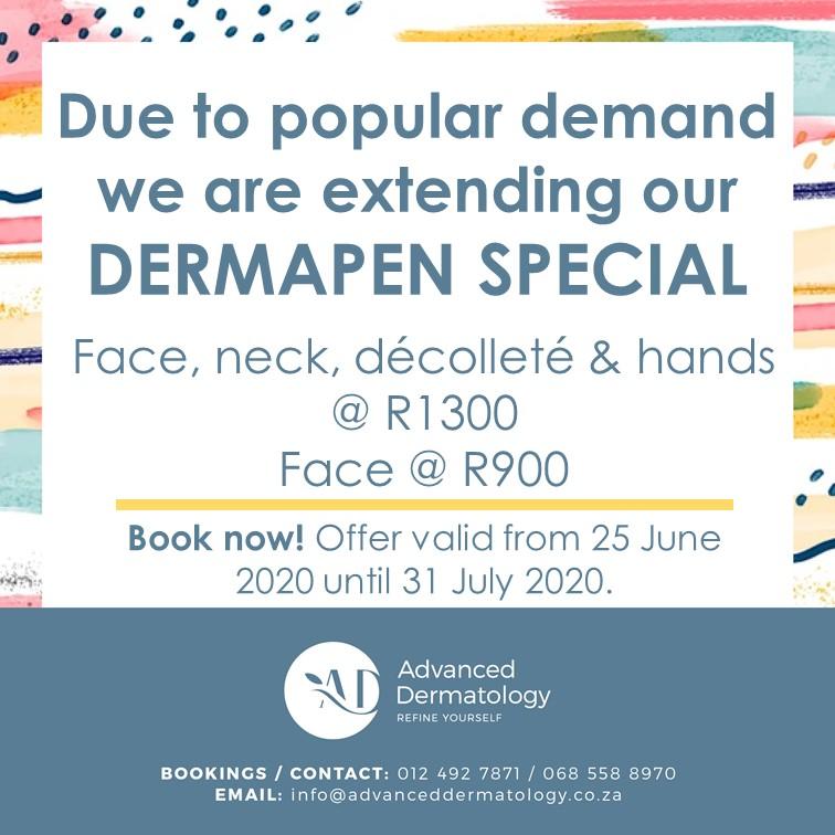 advanced dermatology dermapen special
