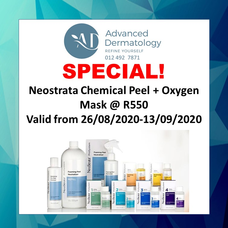 Neostrata Chemical Peel + Oxygen Mask Special