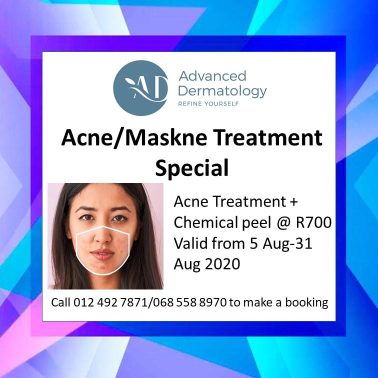advanced dermatology maskne treatment special