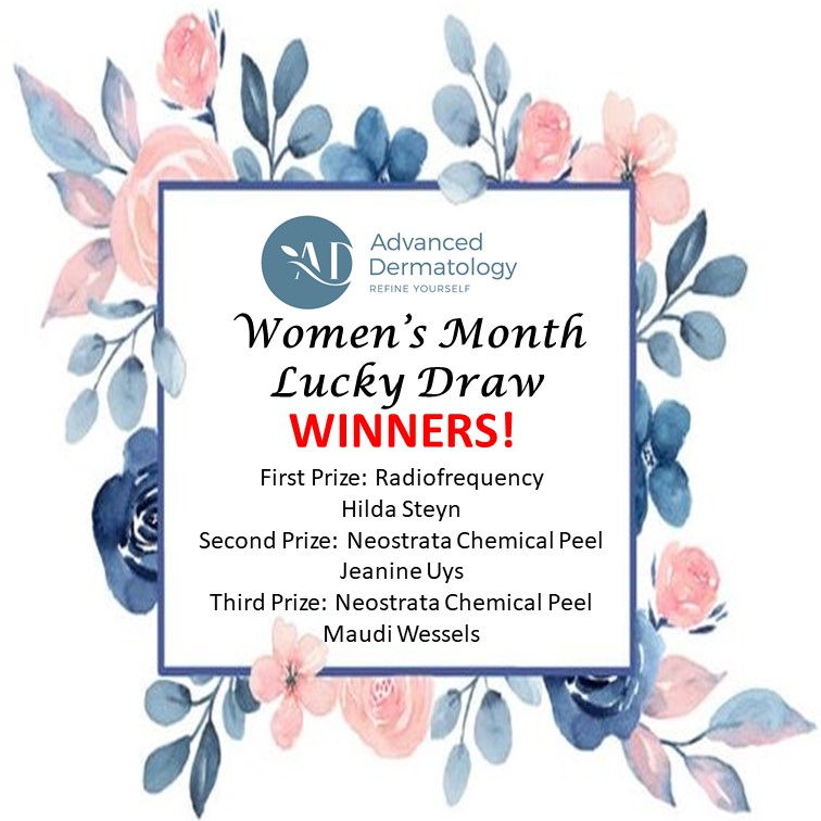 Advanced Dermatology Lucky Draw Winners