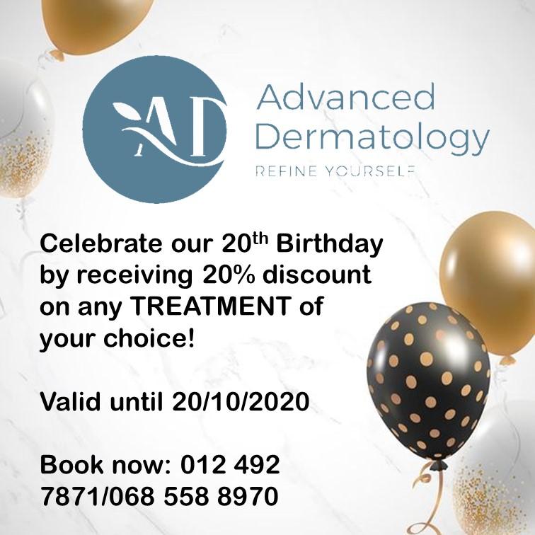 advanced dermatology 20th birthday special
